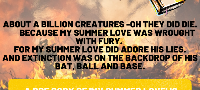 My Summer Love – Poem to Support BushfireRelief
